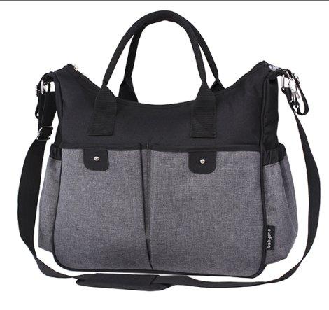 df30c22629e Τσάντα - αλλαξιέρα BABYONO So City!, χρώμα black :: PaliBaby