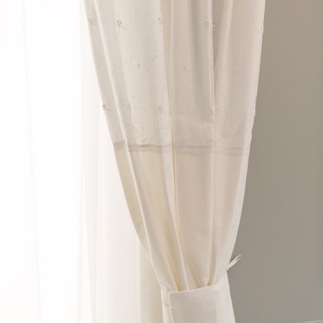 5885f640904 Κουρτίνα με δέστρα FUNNA BABY Premium, χρώμα white. ΒΡΕΦΙΚΟ ΔΩΜΑΤΙΟ / Χαλιά  - Κουρτίνες - Φωτιστικά ...