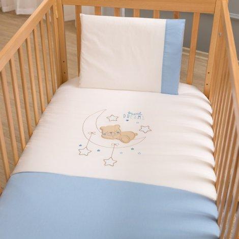 Σετ σεντόνια κούνιας FUNNA BABY Sweet Dreams blue    PaliBaby 840e189f4d3