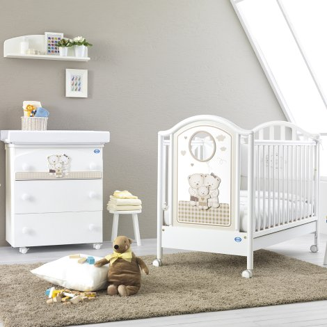 309aed38ff1 ΕΚΘΕΣΙΑΚΟ Ολοκληρωμένο βρεφικό δωμάτιο PALI Chic με κρεβάτι, μπανάκι -  αλλαξιέρα και προίκα μωρού