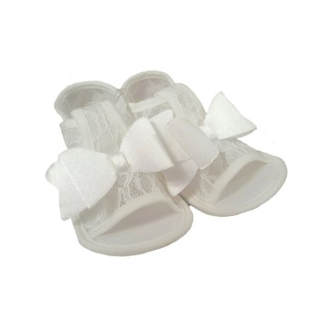 0c070c644ba Βρεφικά πέδιλα FUNNY BABY Lace white :: PaliBaby