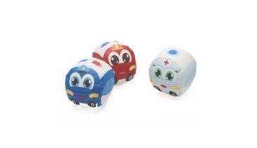 Βρεφικό παιχνίδι δραστηριοτήτων BABY TO LOVE Dooballs My first small cars 0bdae1229a3