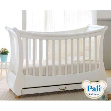 63a9d5d87bd Παιδικό κρεβατάκι PALI Tulip, χρώμα λευκό