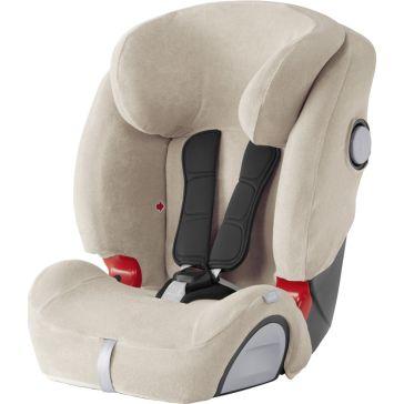 128b32f462b Αντιιδρωτικό κάλυμμα BRITAX ROMER για κάθισμα αυτοκινήτου Evolva 123 SL  Slict, χρώμα Beige