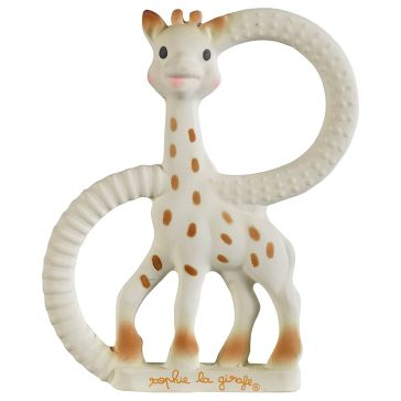Κρίκος οδοντοφυΐας VULLI Sophie La Girafe So'Pure Teething Ring Very Soft Version