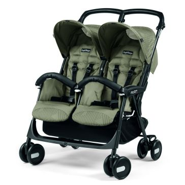 Καρότσι για δίδυμα PEG PEREGO Aria Shopper Twin Geo Beige