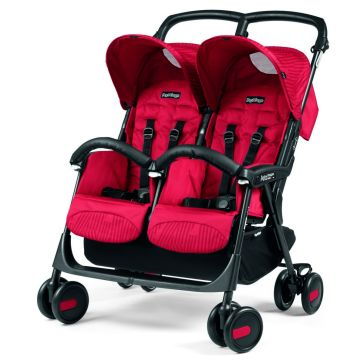 Καρότσι για δίδυμα PEG PEREGO Aria Shopper Twin Geo Red