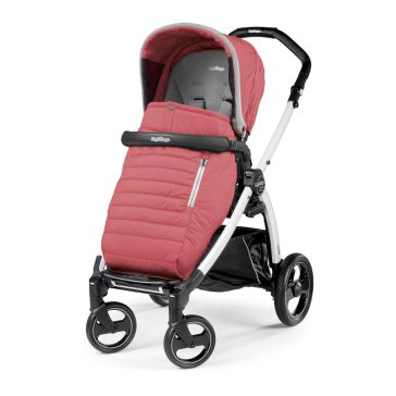 Καρότσι PEG PEREGO Book Plus Pop Up Completo Breeze Coral