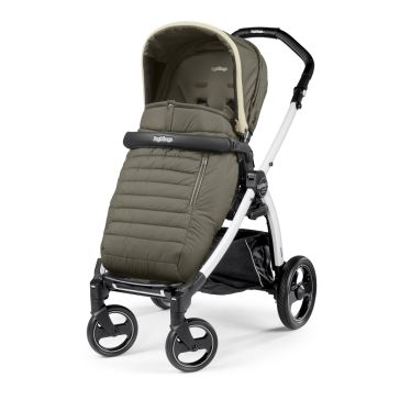 Καρότσι PEG PEREGO Book Plus Pop Up Completo Breeze Kaki