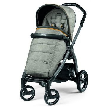 Καρότσι PEG PEREGO Book Plus Pop Up Completo Luxe Grey