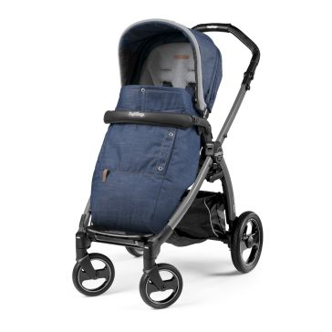 Καρότσι PEG PEREGO Book Plus Pop Up Completo Urban Denim
