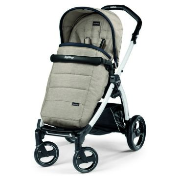 Καρότσι PEG PEREGO Book Plus Pop Up Completo Luxe Beige