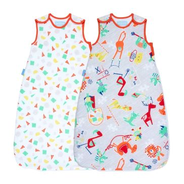 Σετ υπνόσακοι GROBAG Wash and Wear Twin Pack Childs Play, 6 - 18 μηνών (2.5 tog)