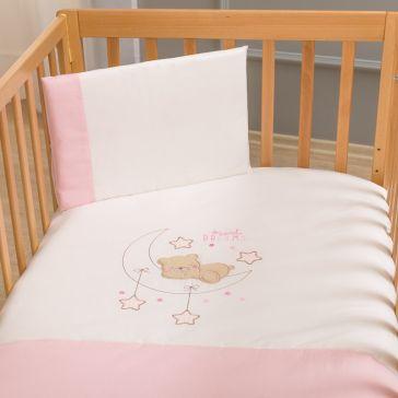 Σετ σεντόνια κούνιας FUNNA BABY Sweet Dreams pink fe0231abdf3