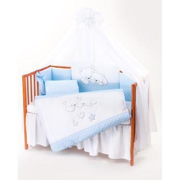 983251c00cf Σετ προίκας μωρού 7 τεμαχίων TUTTOLINA Cuddle Bear blue