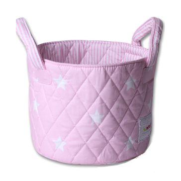 bbce3553e1e Καλαθάκι καλλυντικών μωρού MINENE Pink Stars