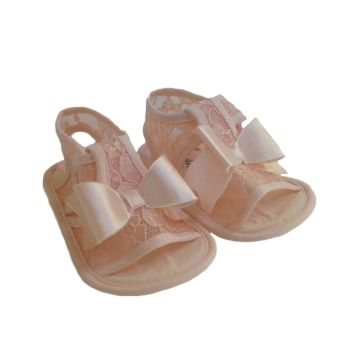 378a60c7a69 Βρεφικά πέδιλα FUNNY BABY Lace pink