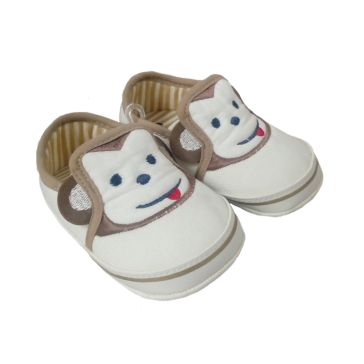 00d68cb1794 Παπουτσάκια αγκαλιάς FUNNY BABY Monkey cream