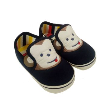 b74a500e4d3 Παπουτσάκια αγκαλιάς FUNNY BABY Monkey navy