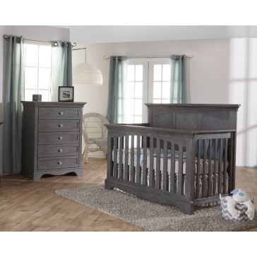 Βρεφικό κρεβατάκι PALI Ragusa Forever Crib distressed granite