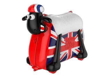 473b3a0e838 Παιδική Βαλίτσα ταξιδιού SHAUN THE SHEEP, ροζ πρόβατο <b> ΔΩΡΟ ...