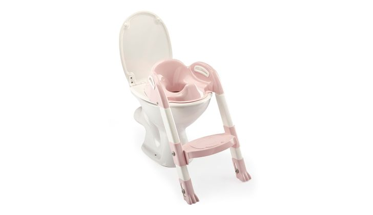 Βάση τουαλέτας THERMOBABY Kiddyloo Toilet Trainer pink