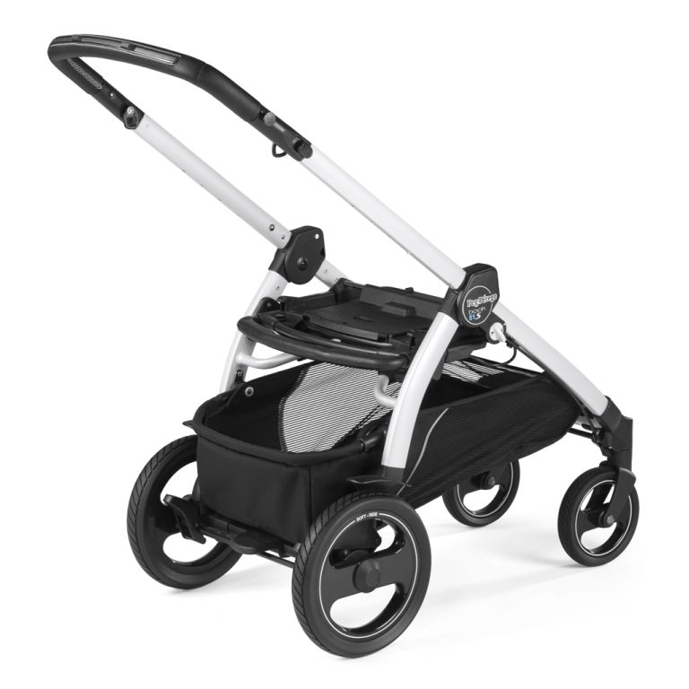 Πλαίσιο PEG PEREGO Book 51 S TELESCOPIC HANDLE Pearl/White
