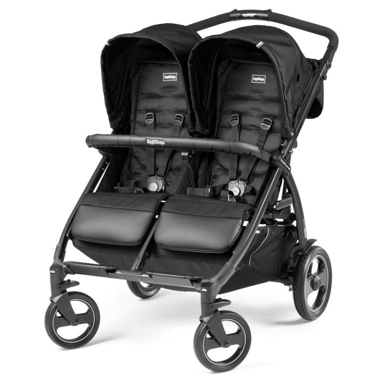 Καρότσι για δίδυμα PEG PEREGO Book For Two Class Black