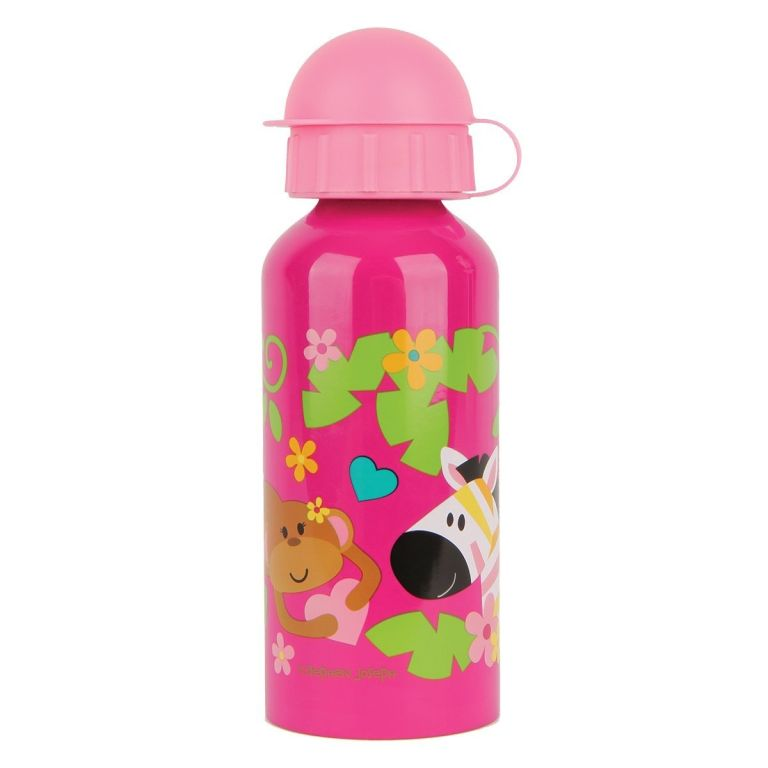 Παιδικό παγουράκι STEPHEN JOSEPH Stainless Steel Water Bottle Zoo Girl
