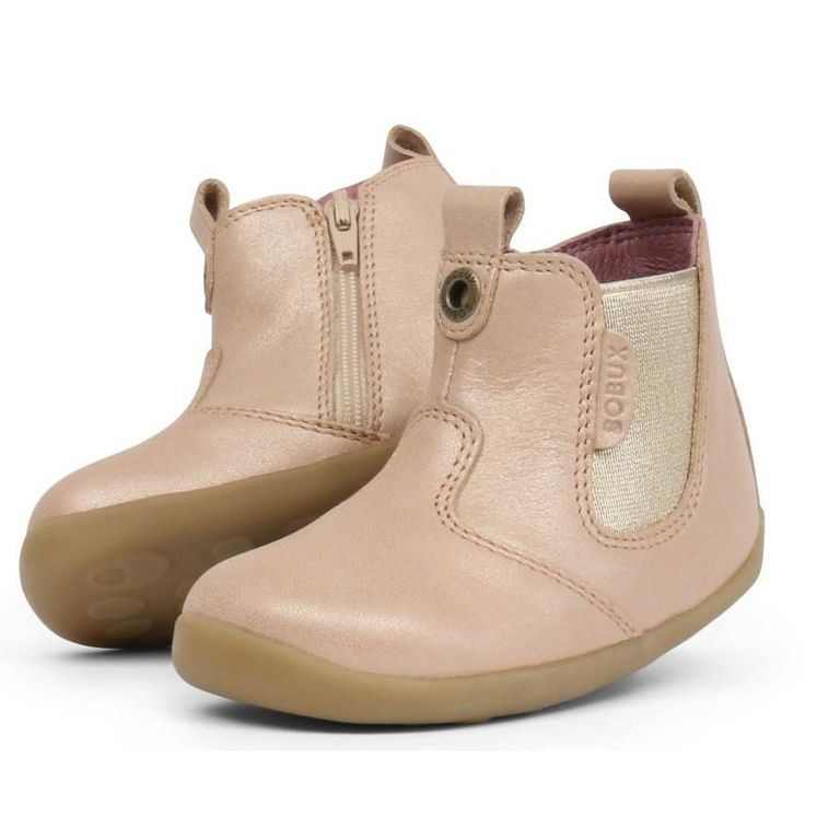 Bobux Step up Jodphur Boot Champagne Shimmer
