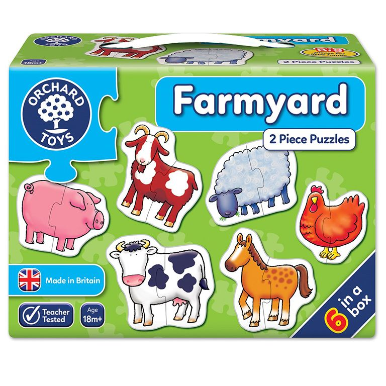 Orchard Toys Farmyard Jigsaw Puzzle Ηλικίες 18+ μηνών