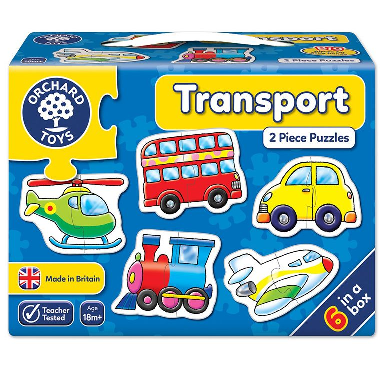 Orchard Toys Transport Jigsaw Puzzle Ηλικίες 18+ μηνών