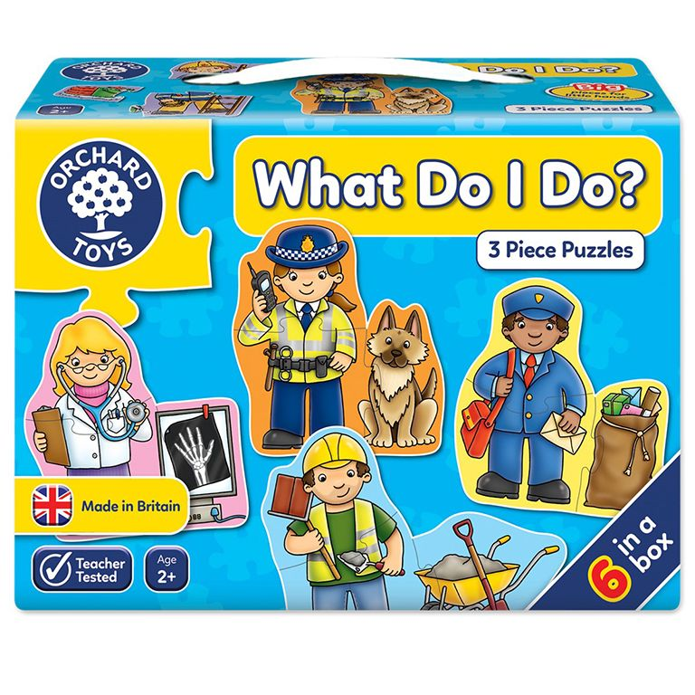 Orchard Toys What Do I Do Jigsaw Ηλικίες 2+ χρονών