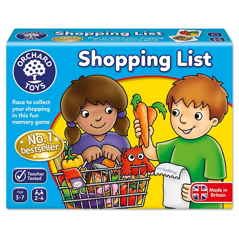 Orchard Toys Shopping List Ηλικίες 3-7 ετών
