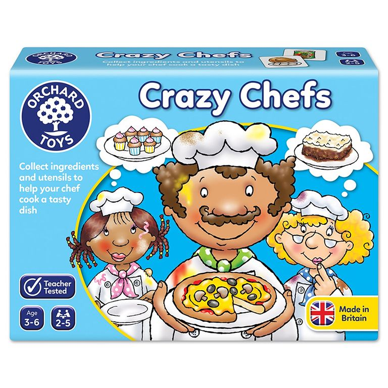 Orchard Toys Crazy Chefs Game Ηλικίες 3-6 ετών