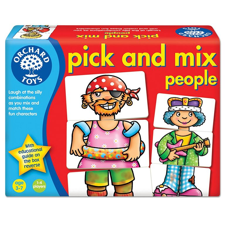 Orchard Toys Pick and Mix People Game Ηλικίες 3-7 ετών
