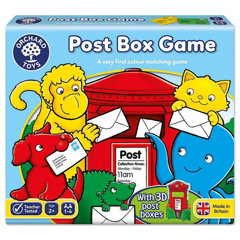 Orchard Toys Dinosaur Post Box Game Ηλικίες 2+ετών
