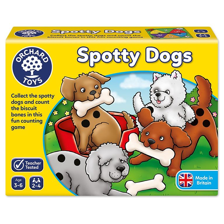 Orchard Toys Spotty Dogs Game Ηλικίες 3- 6 ετών