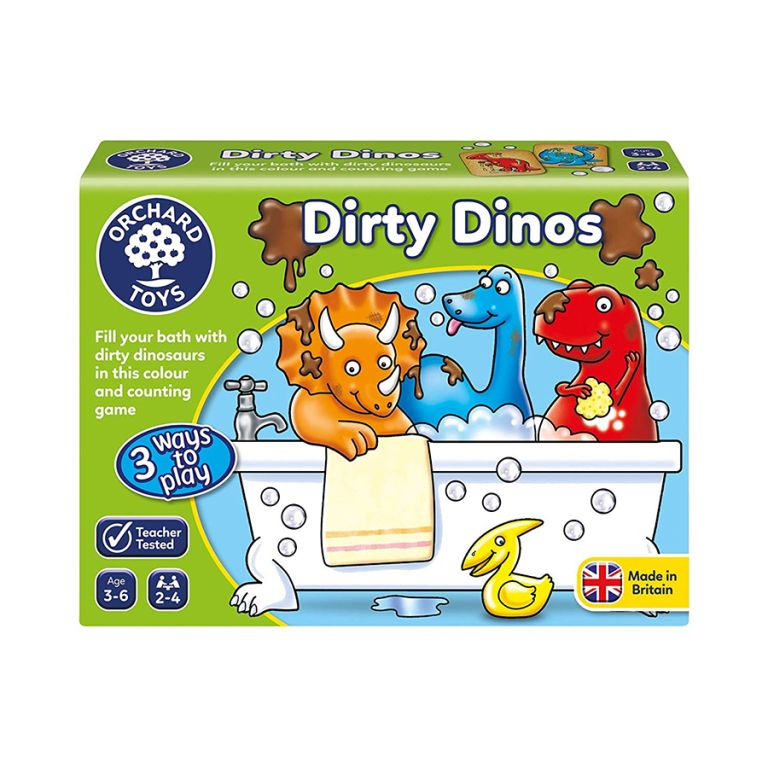 Orchard Toys Dirty Dinos Ηλικίες 3 - 6 ετών