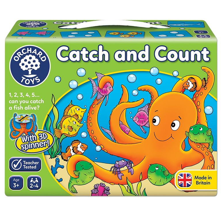 Orchard Toys Catch and Count Game Ηλικίες 3+