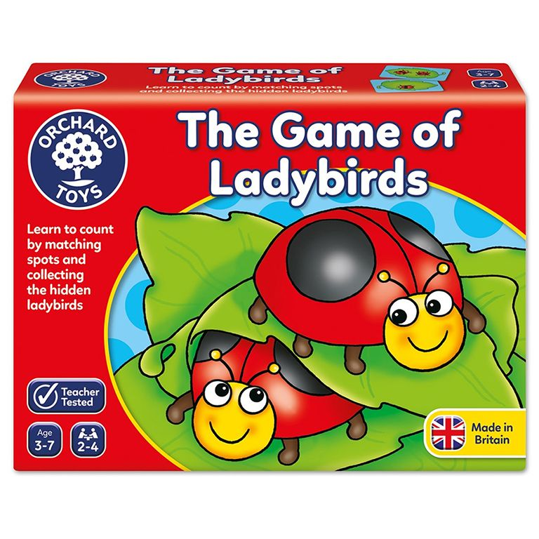 Orchard Toys The Game of Ladybirds Ηλικίες 3-7 ετών