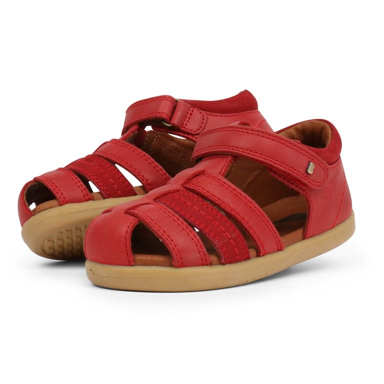 Bobux Step up Roam Sandal Rio Red
