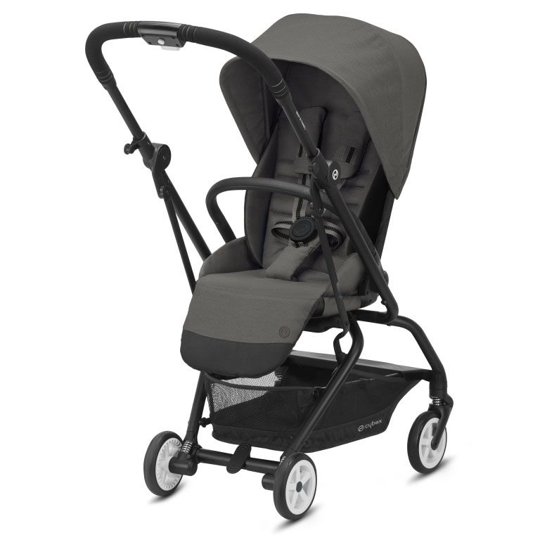 Βρεφικό καρότσι CYBEX Eezy S Twist 2 BLK Soho Grey