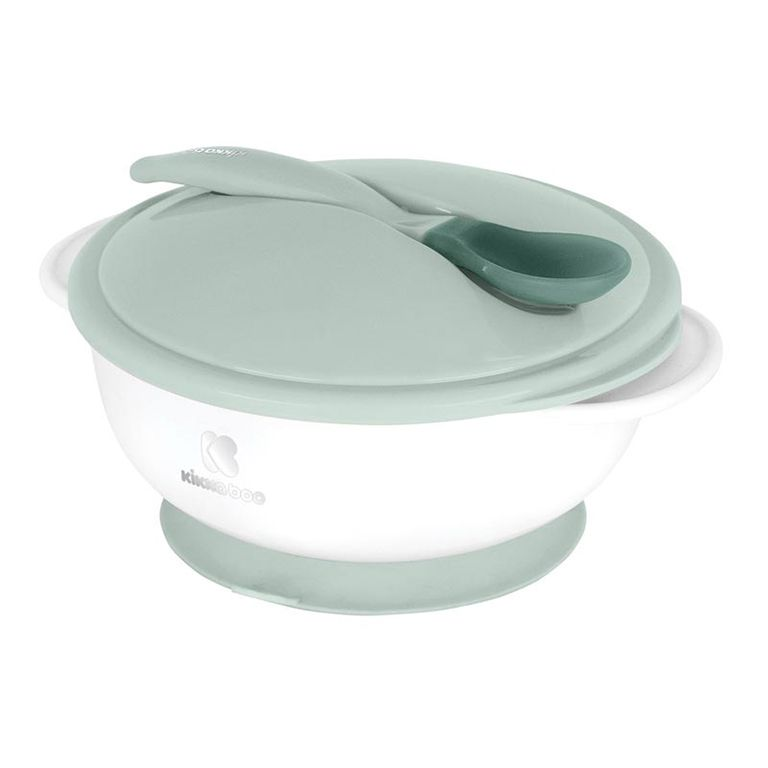 ΚΙΚΚΑΒΟΟ Bowl with Heat Sensing Spoon Mint 31302040077