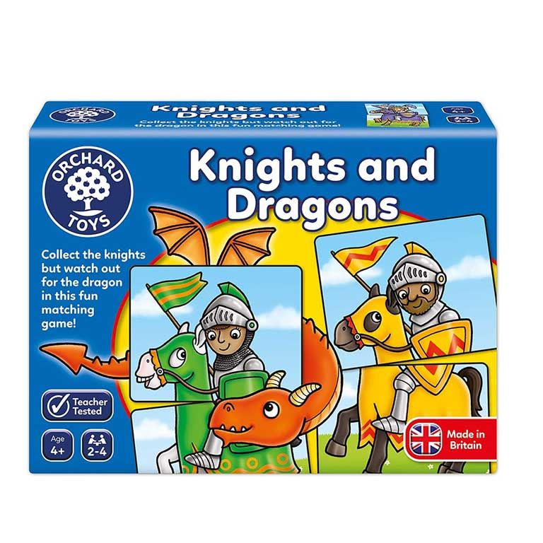 Orchard Toys Knights and Dragons Ηλικίες 4+ ετών
