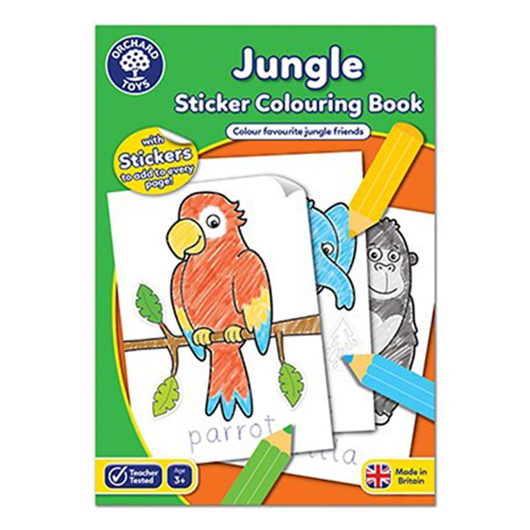 Orchard Toys Jungle Colouring Book ORCHCB11