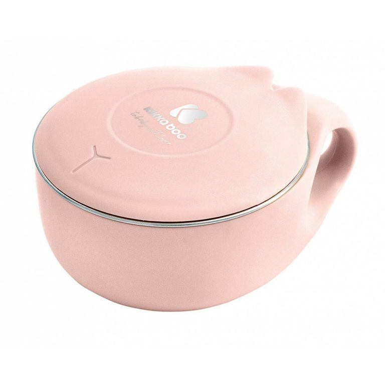 ΚΙΚΚΑΒΟΟ Stainless Bowl 200ml Cat Pink 31302040110