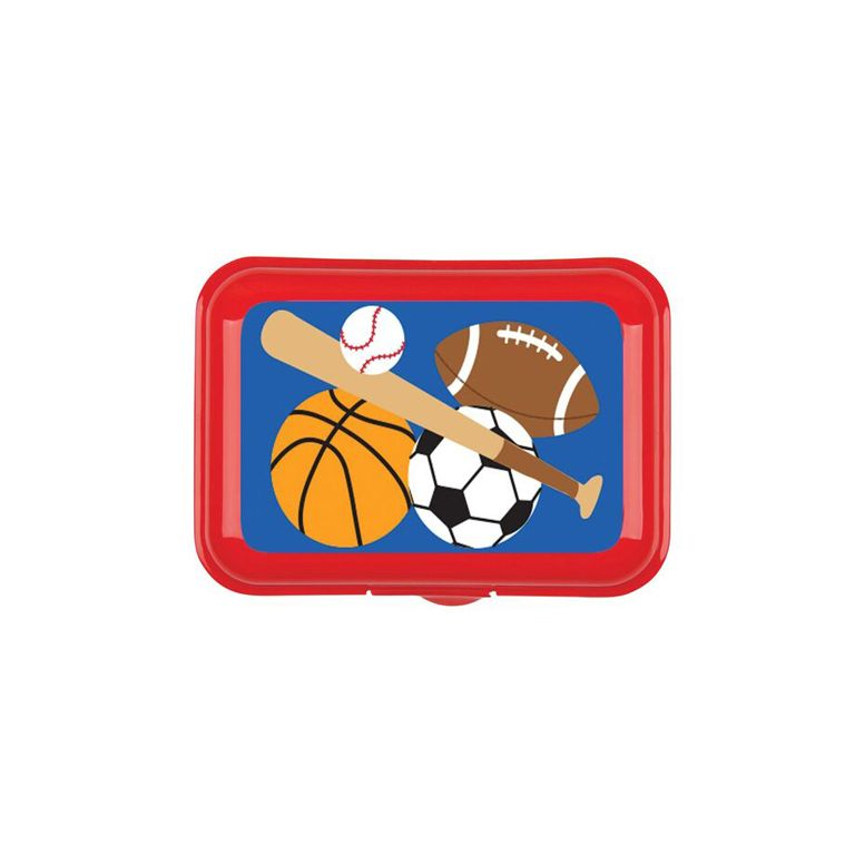 Δοχείο φαγητού STEPHEN JOSEPH Snack Box Sports