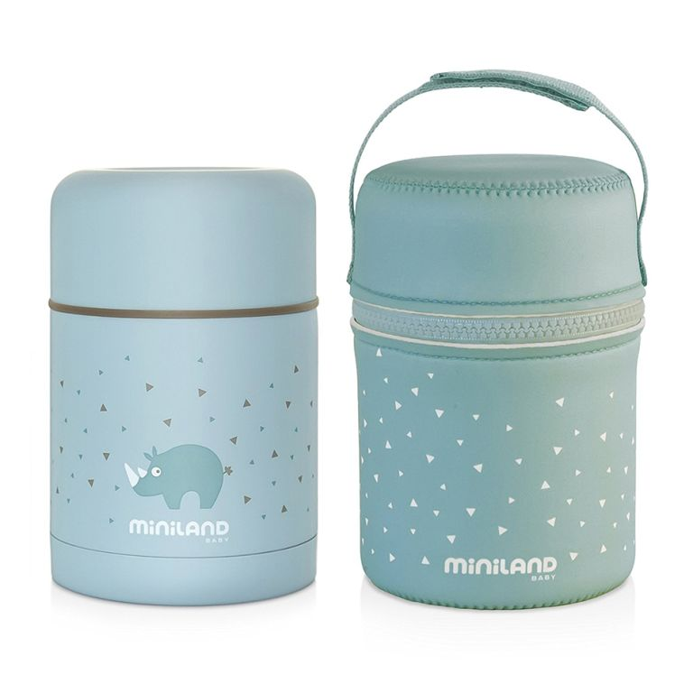Θερμός φαγητού MINILAND Silky Food Thermos blue