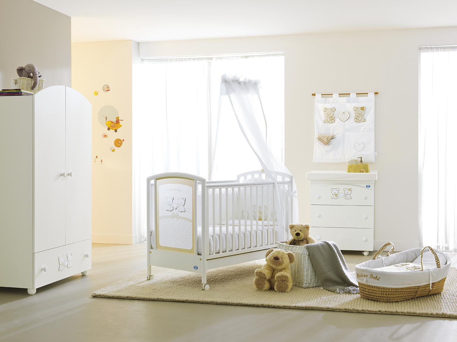 pali smart maison bebe white beige palibaby. Black Bedroom Furniture Sets. Home Design Ideas